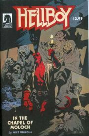 Hellboy In The Chapel Of Moloch One Shot (2008) Mike Mignola Dark Horse comic book